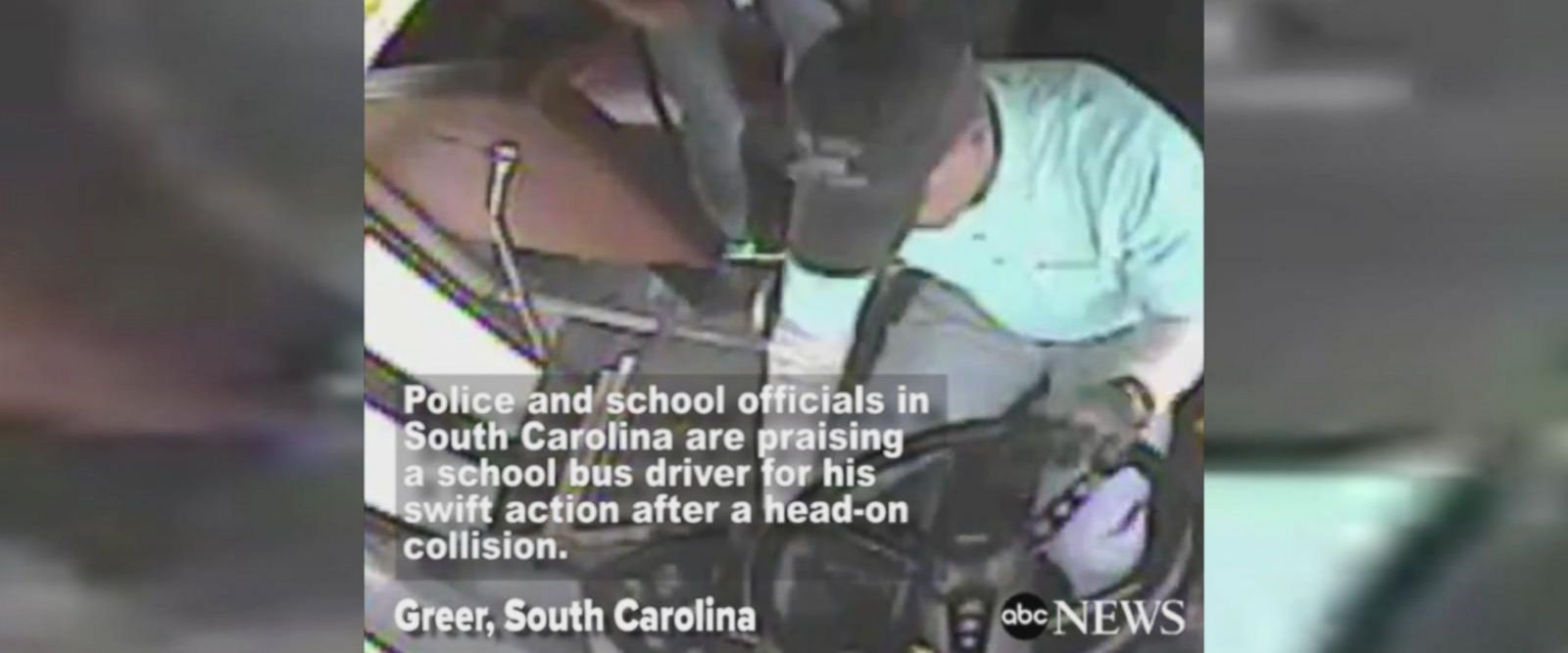 VIDEO: South Carolina school officials, police praise school bus driver for actions after head-on collision