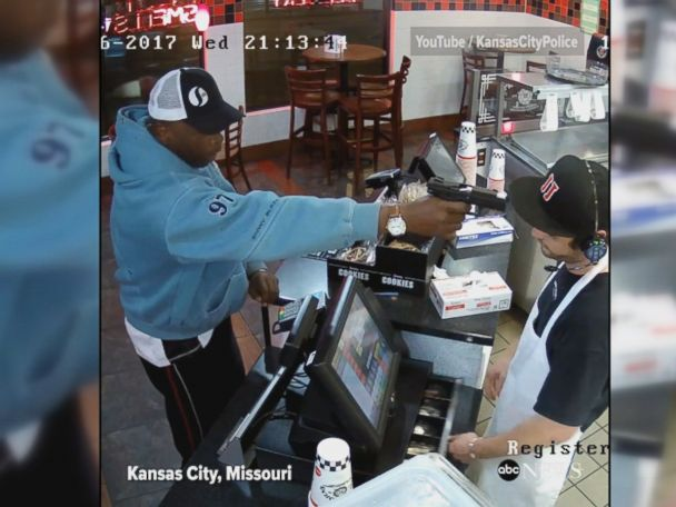 WATCH:  Jimmy John's employee cool under pressure of robbery at gunpoint