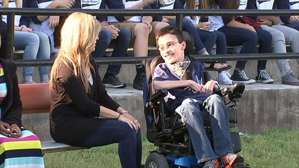 VIDEO: Christian Heavner received VIP treatment during his send-off to see the New York Yankees.