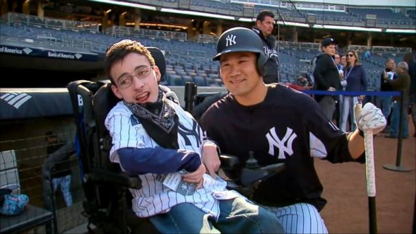 VIDEO: Christian Heavner visited his favorite baseball team and met some of its players.