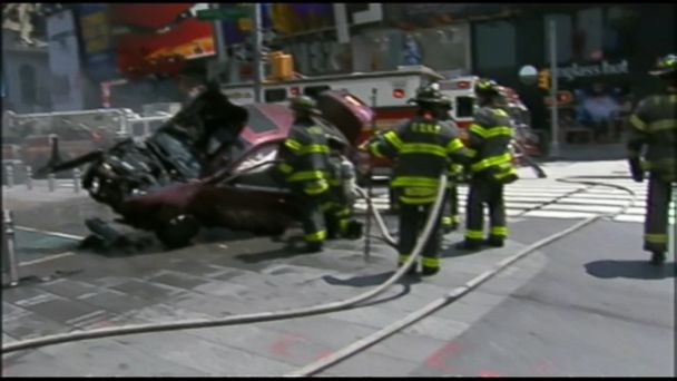VIDEO: A New York City official said it appears to be an accident.