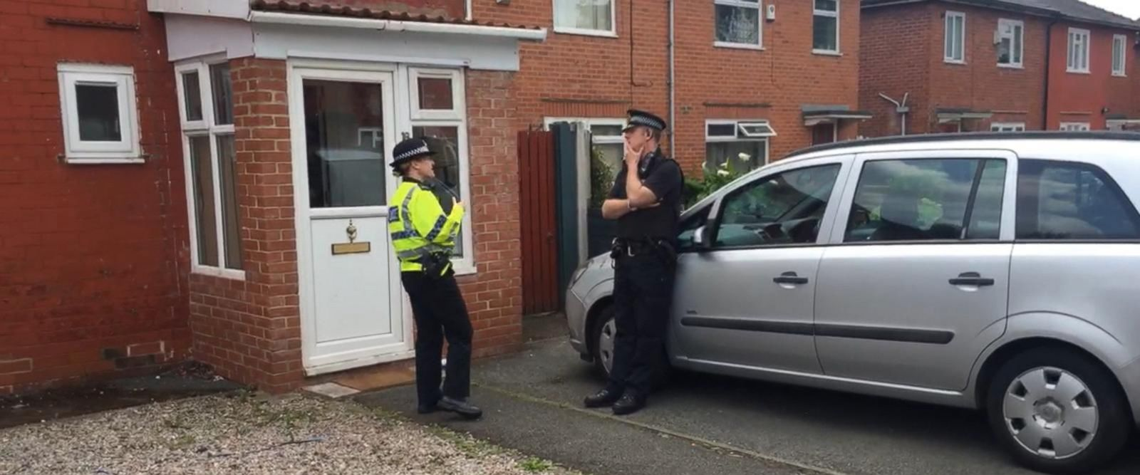 VIDEO: Overnight police raids in Manchester lead to arrests