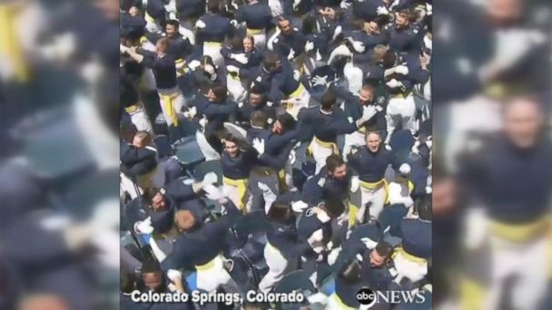 VIDEO: Cadets celebrate Air Force Academy graduation