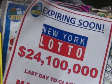 WATCH:  $24 million winner claims prize with 2 days left