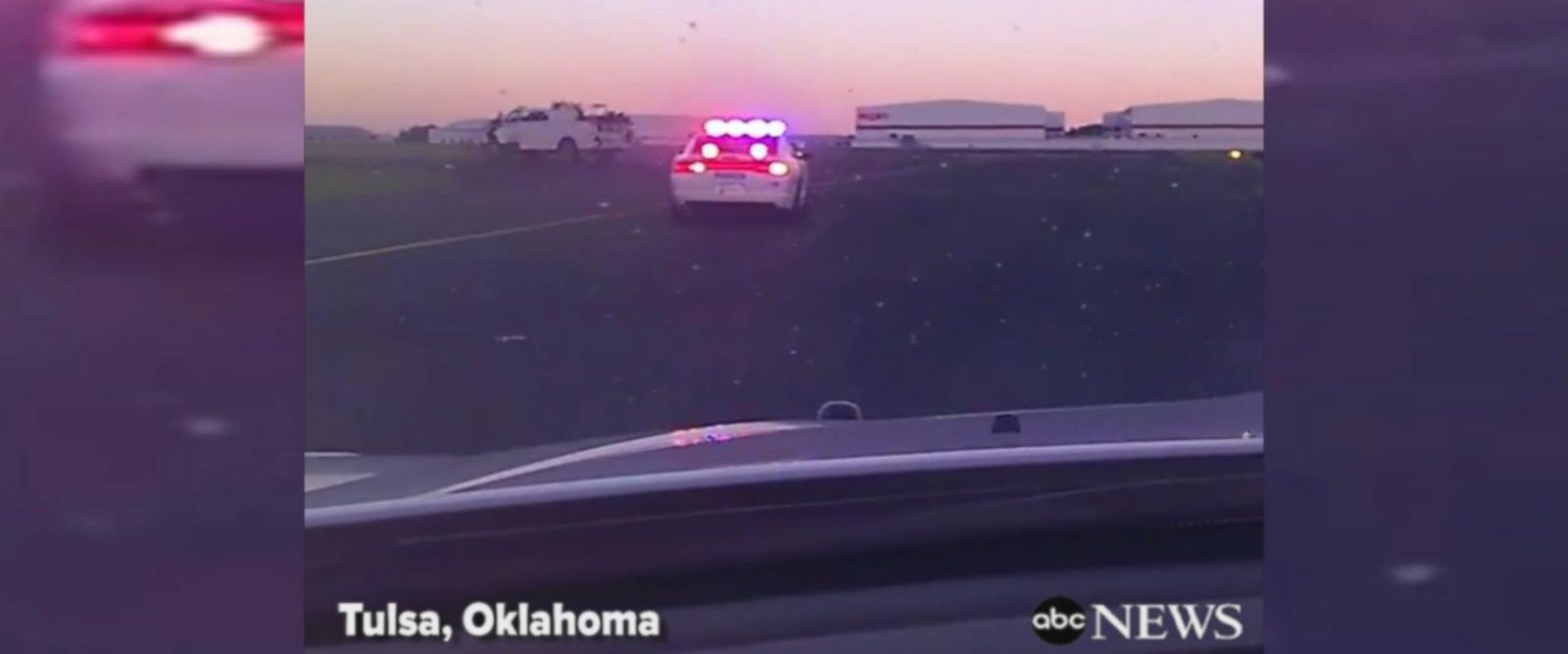 VIDEO: Suspect leads police pursuit across Tulsa Airport runway
