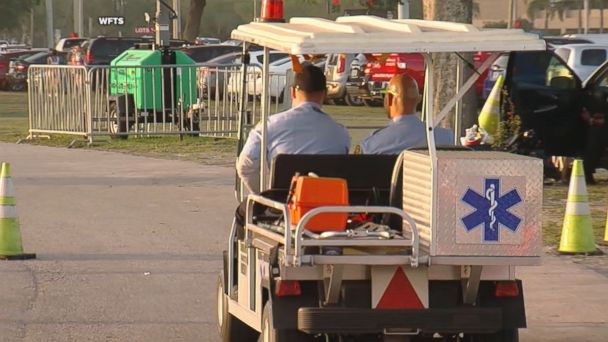 More people were hospitalized at this year's Sunset Music Festival compared to last year.