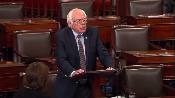 Bernie Sanders says he is