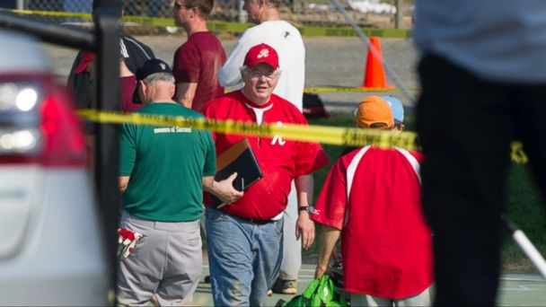 VIDEO: The gunman has died after opening fire earlier this morning on members of Congress practicing for a charity baseball game in Alexandria, Virginia.