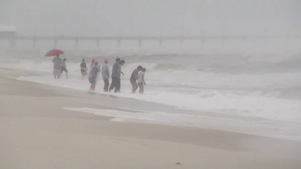 VIDEO: A 10-year-old boy died in Alabama today after suffering an injury related to Tropical Storm Cindy, according to police.