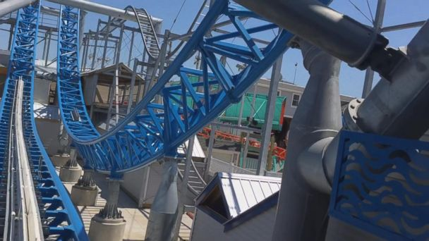 VIDEO: New roller coaster, 'Gale Force', opens on Jersey Shore boardwalk
