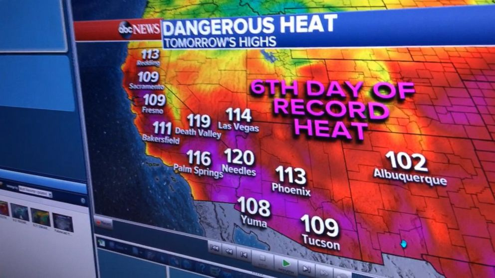 VIDEO:  Heat wave brings extreme temperatures to the Southwest
