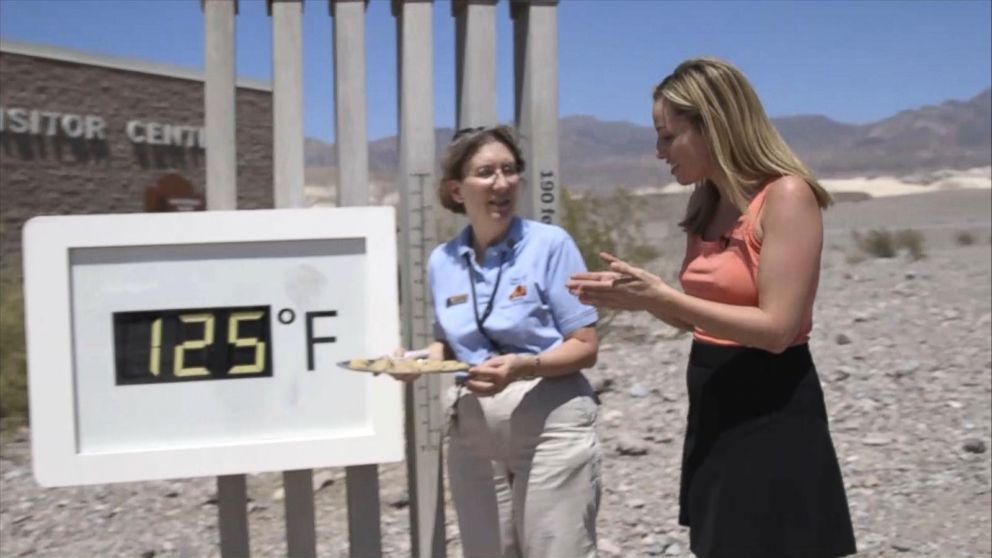 VIDEO: Baking in the Death Valley heat