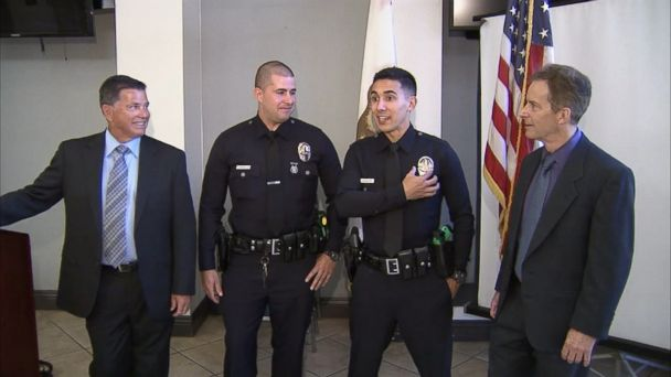 VIDEO: Officers Wunderlich and Winslow share more than a passion to protect and serve with their fathers.