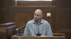 The father of 2-year-old Bella Bond, who was nicknamed Baby Doe after her unidentified body washed up on a Boston area beach, spoke today at the sentencing hearing for the man convicted of murdering his young daughter.