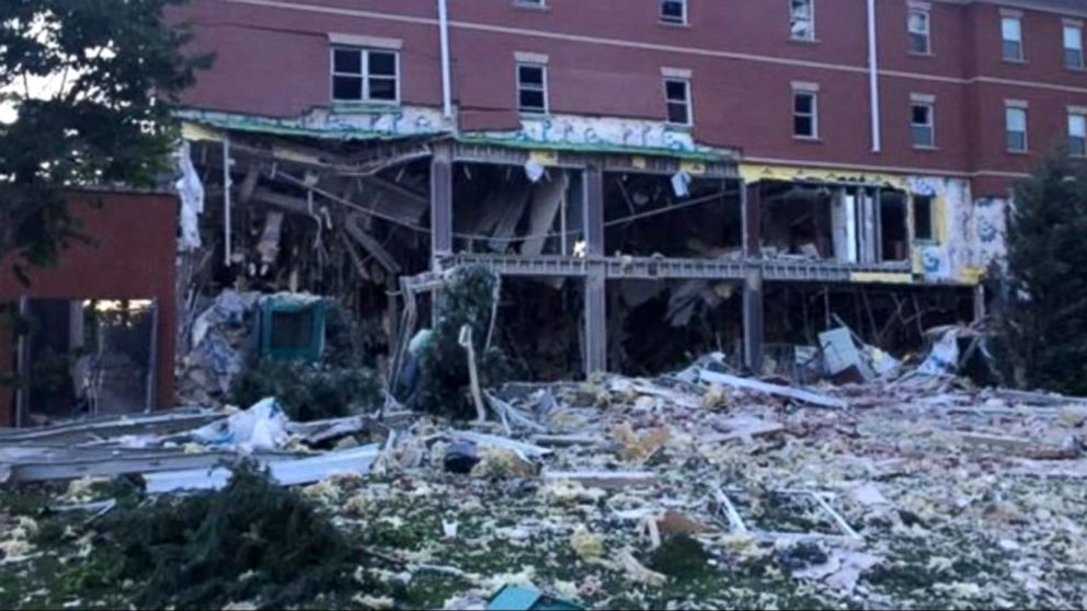 VIDEO: The blast occurred at a Murray State University residential building.