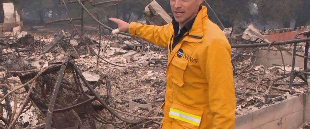 VIDEO: Communities outside Santa Barbara, CA evacuated due to wildfires
