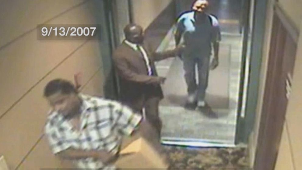 VIDEO: Surveillance footage of O.J. Simpson before, after 2007 Vegas incident