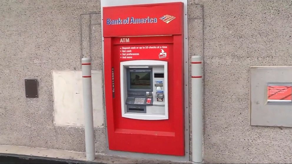 Man rescued after getting locked inside bank's ATM room