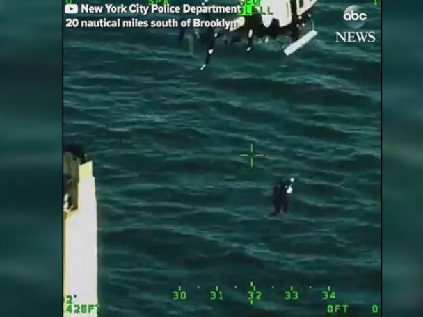 WATCH:  Sick passenger rescued by helicopter in New York