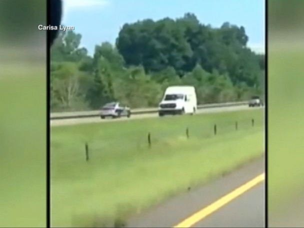 WATCH:  State trooper caught on video appearing to speed wrong way down highway