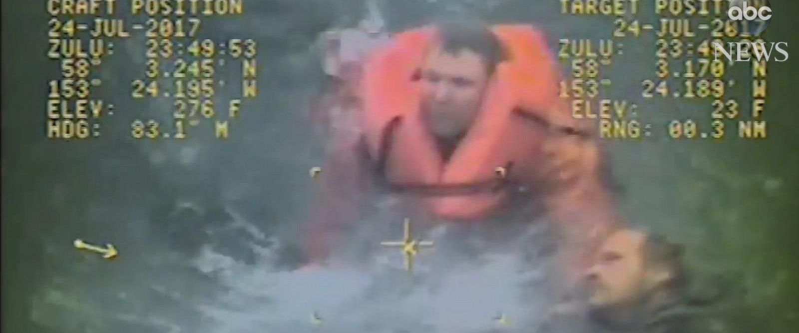 VIDEO: Alaskan fishing boat captain leaps into frigid sea to save crew after capsizing