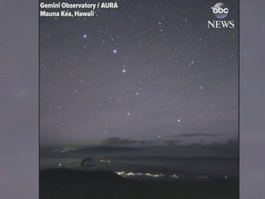WATCH:  Time lapse: Stunning starry skies over Hawaii