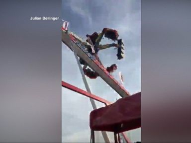 WATCH: 1 dead, 7 injured, after incident on ride at Ohio State Fair