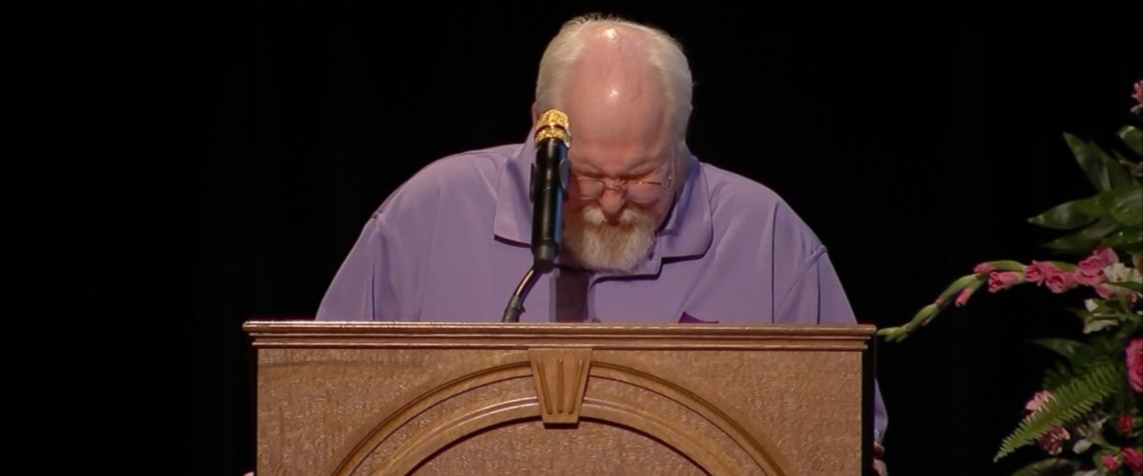 """And as I listened to her friends, and hear stories of my daughter and the way she was, she loved people,"" Heather Heyer's father, Mark Heyer, said during her memorial service today."