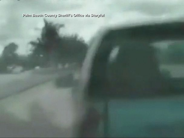 WATCH:  Cop crashes into driver at 104 mph