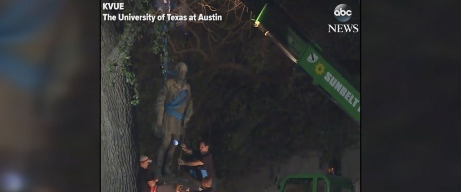 The University of Texas at Austin is removing four Confederate monuments that it says have become symbols of modern white supremacy and neo-Nazism, the school announced on Sunday.