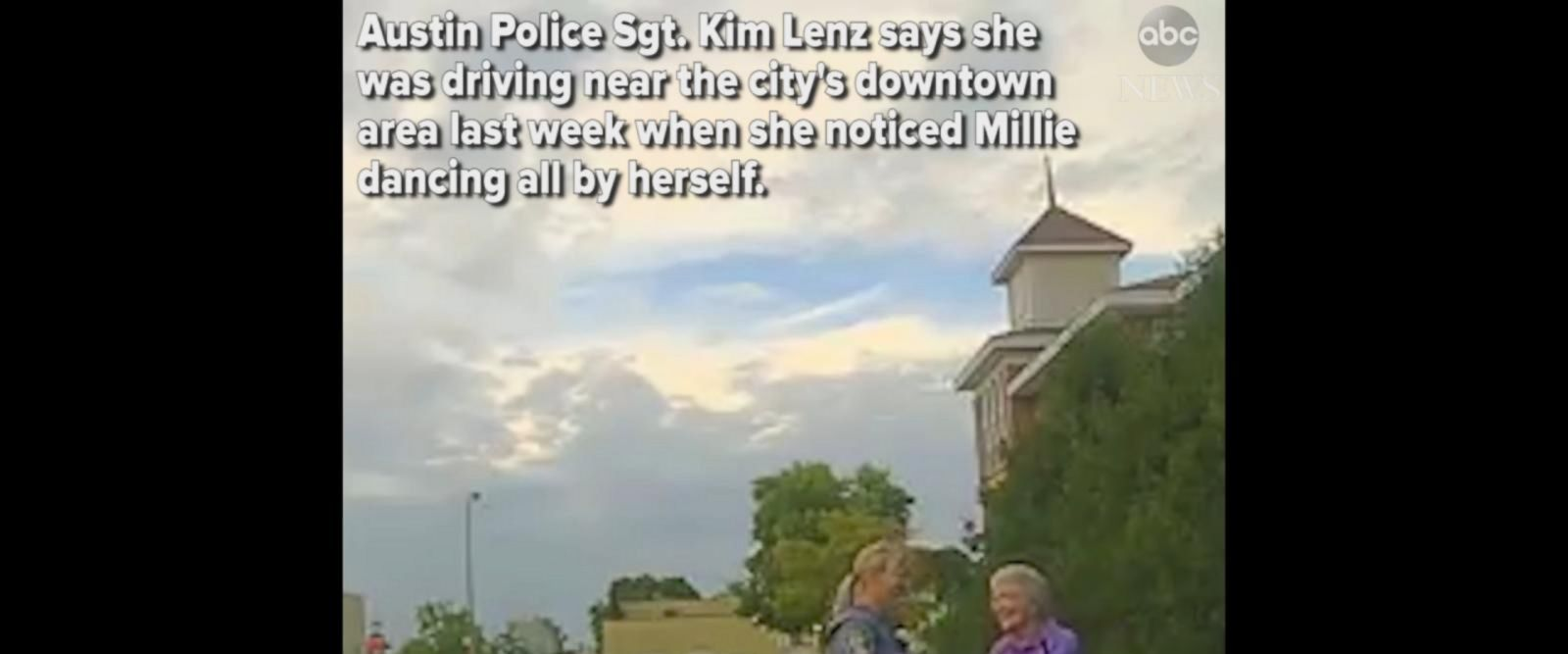 VIDEO: Minnesota police officer gets out of squad car to dance with 92-year-old