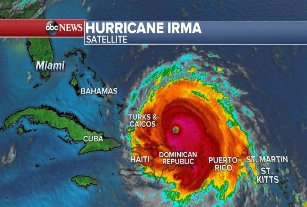 Hurricane Irma Closes In On Turks And Caicos Video Abc News