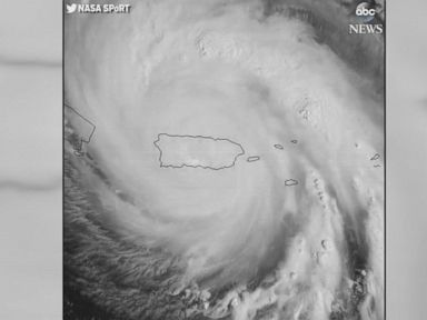 WATCH:  NASA captures eye of Hurricane Maria as it's over Puerto Rico