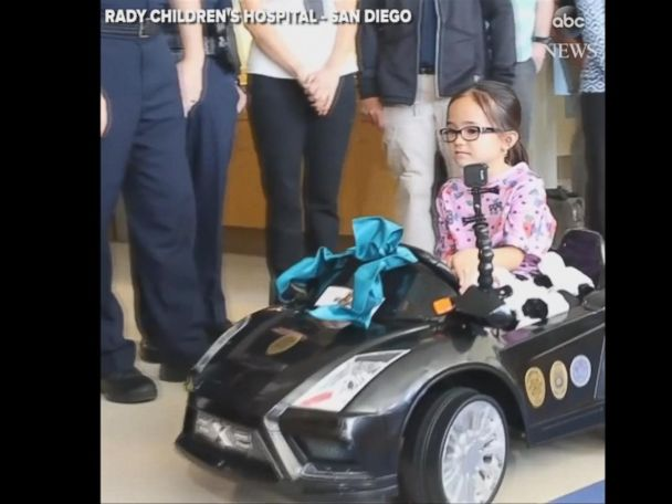 WATCH:  Children's hospital lets kids 'drive' themselves to operating room