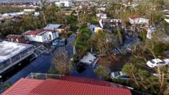 The death toll in storm-battered areas is rising as Hurricane Maria continued to barrel through the Caribbean on Friday, two days after its landfall in Puerto Rico left the U.S. territory battered and in the dark.