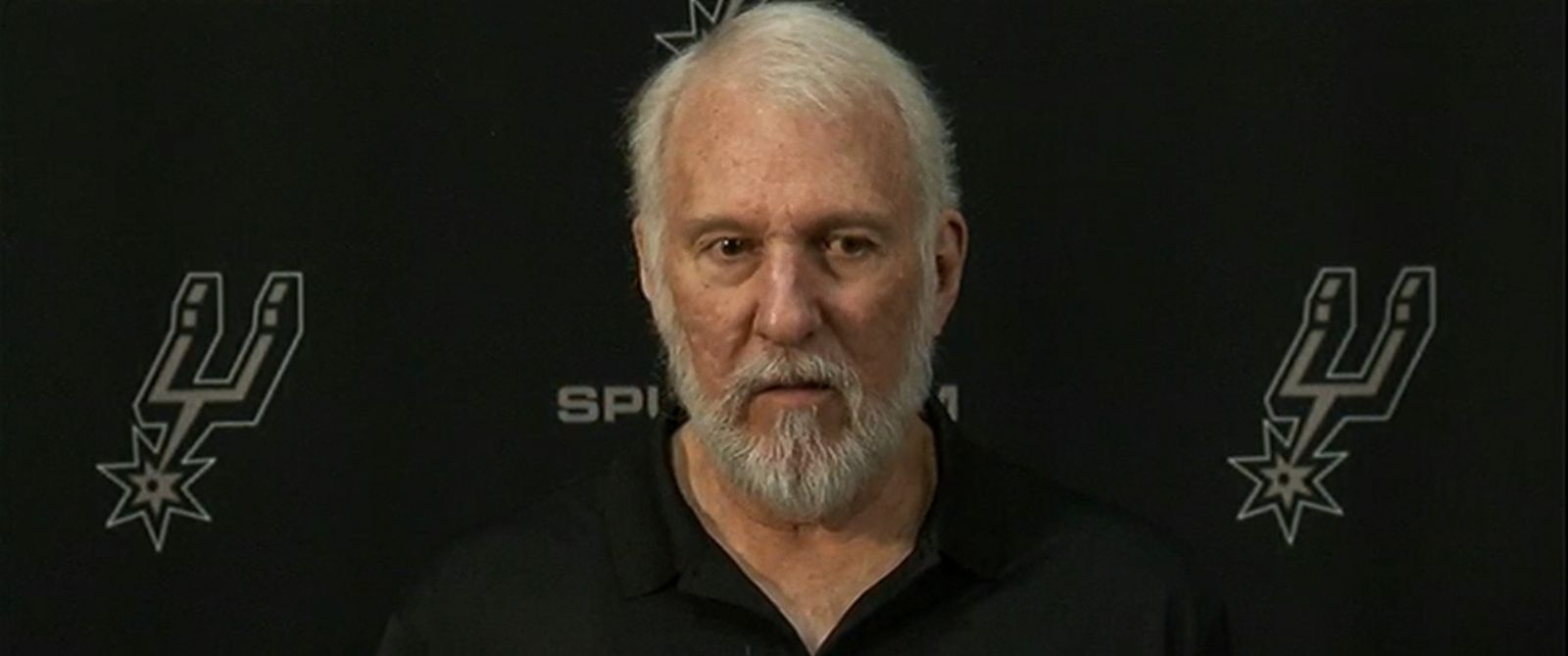 "VIDEO: San Antonio Spurs head coach Gregg Popovich says, ""Our country is an embarrassment in the world."""