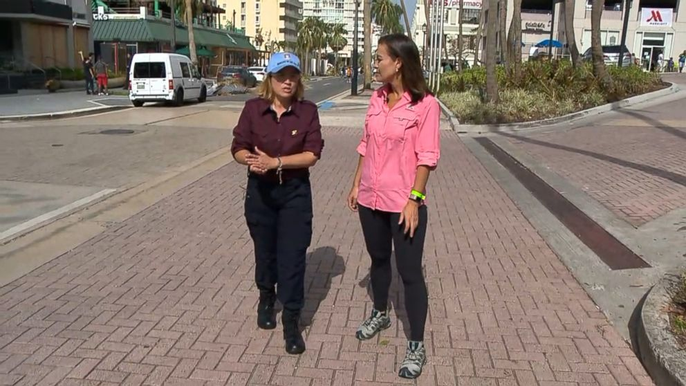san juan mayor praises fema begs for elimination of red