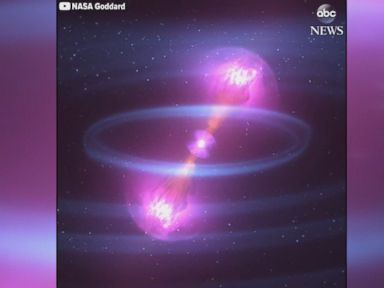 WATCH:  Colliding neutron stars create ripples in space-time, NASA says