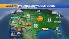 A storm system is expected to move over the Pacific Northwest later this week and the trailing cold front will most likely bring some much-needed rain to northern California between Thursday and Friday, according to ABC meteorologists.