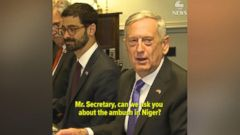 VIDEO: Mattis on Niger ambush: The US military does not leave its troops behind