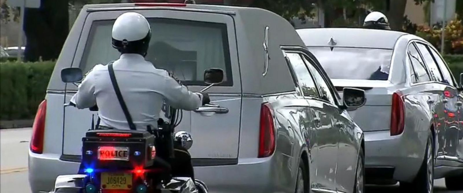 VIDEO: Fallen soldier's body transported to funeral home