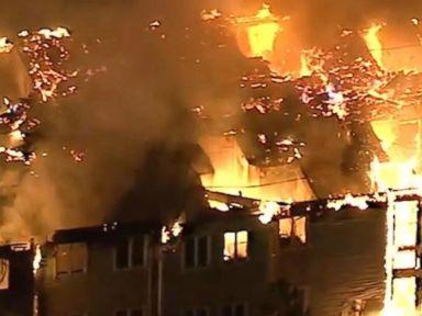 WATCH:  Massive fire engulfs Pennsylvania senior living facility