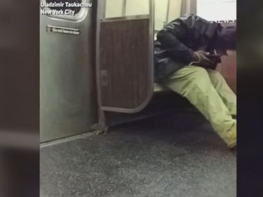 WATCH:  Rat terrifies NYC subway riders