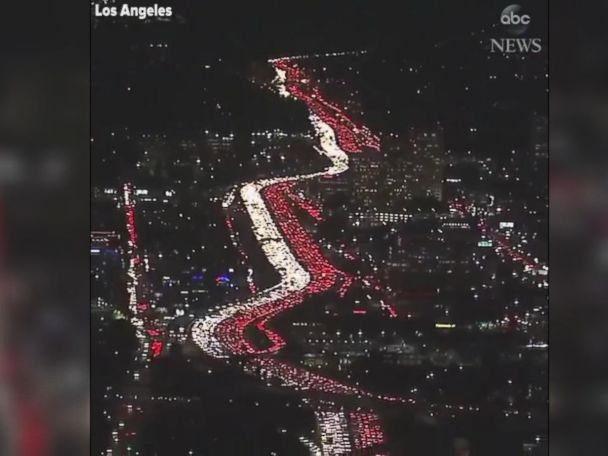 WATCH:  LA gets a head start on travel for Thanksgiving