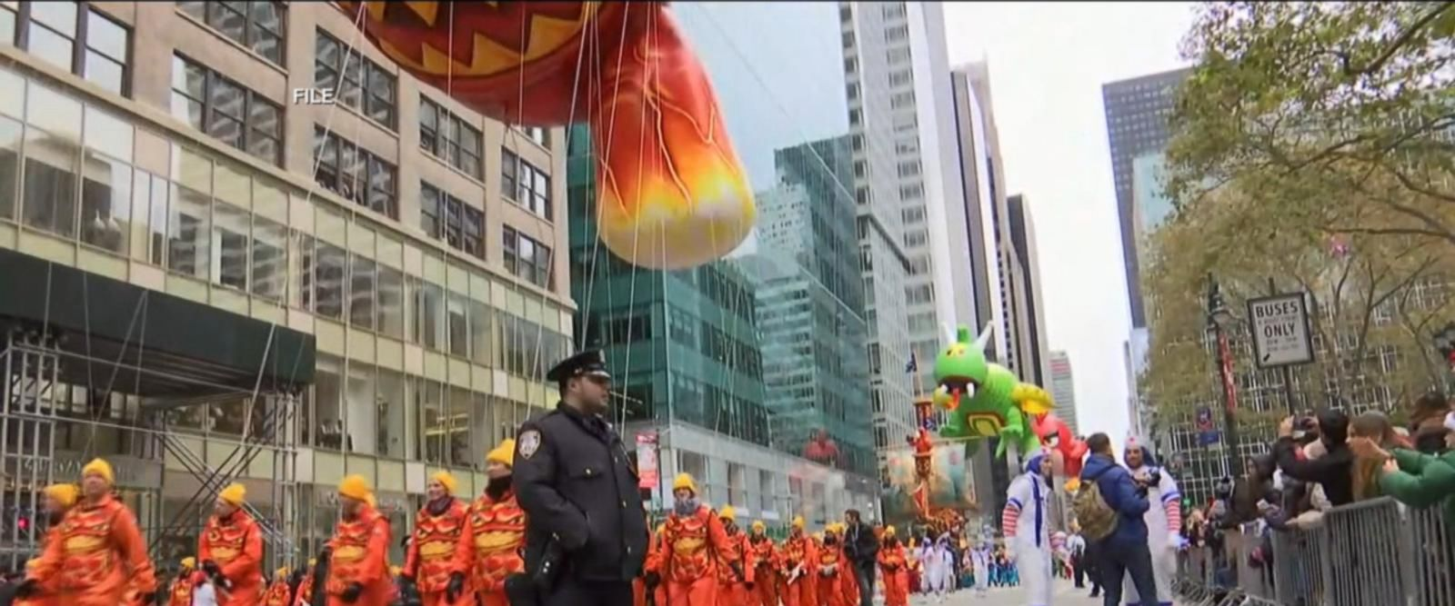 VIDEO: Security tight for NYC Thanksgiving Day Parade