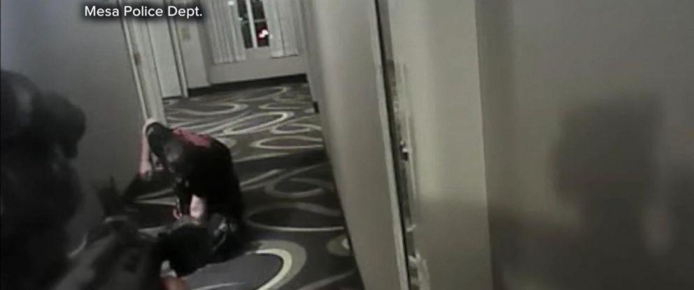 VIDEO: Ex-police officer acquitted in fatal hotel shooting Philip Brailsford shot an unarmed man outside his Mesa, Arizona, hotel room in 2016.