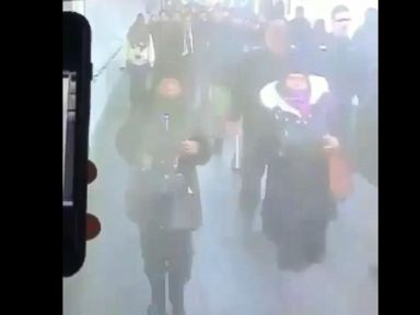 WATCH:  Video captures explosion in NYC subway system