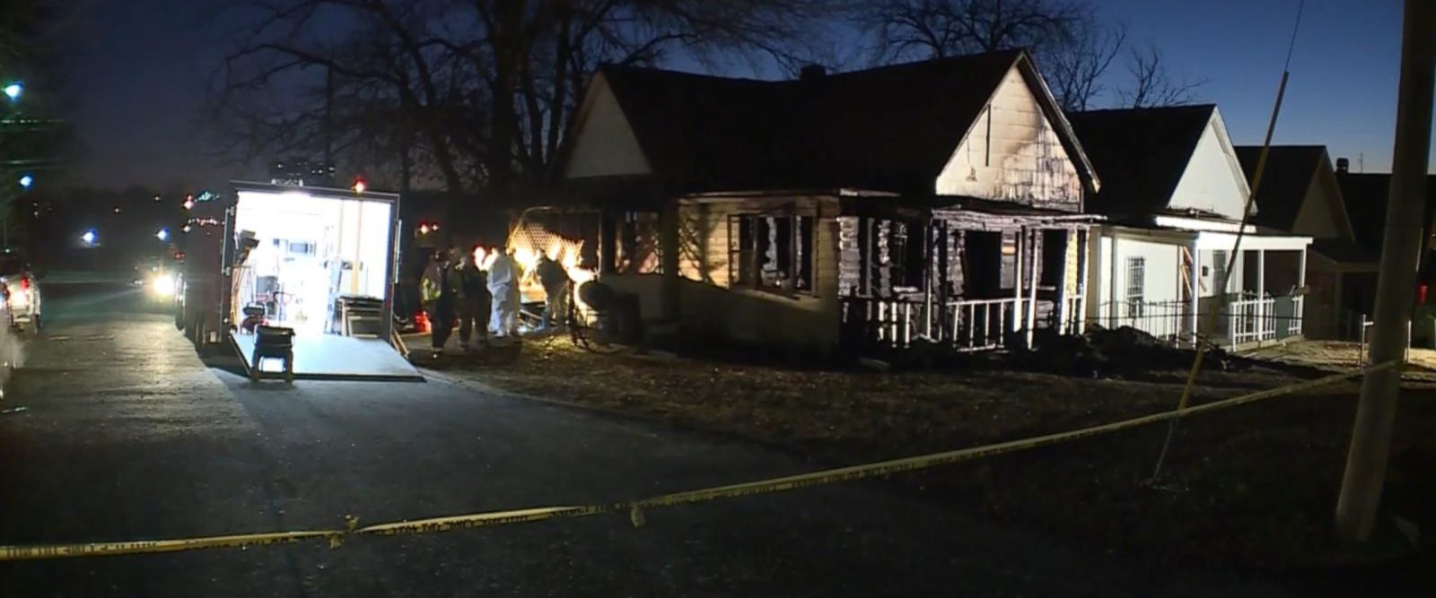 VIDEO: Police are investigating a deadly Kansas house fire as a possible homicide after finding three bodies inside, authorities said Tuesday.