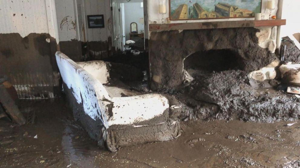 Landslides devastate California homes