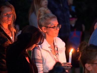 WATCH:  Candlelight vigil held for California mudslide victims
